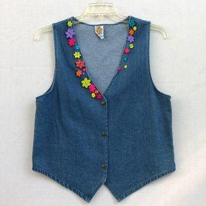 90s Vintage kevin G Vest size M
